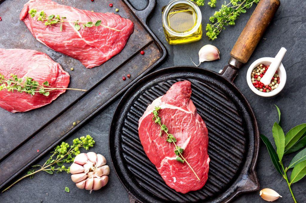 Fresh Beef Marbled Beef Steak